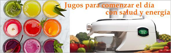 Extractor de Jugos Green Star